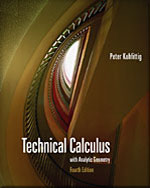 Student Solutions Manual for Kuhfittig's Technical Calculus with Analytic Geometry, 4th, ISBN-13: 978-0-495-10545-9