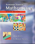 Elementary Technical Mathematics, 8th Edition, 978-0-534-38637-5