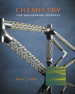 Student Solutions Manual with Study Guide for Brown/Holme's Chemistry for Engineering Students, 2nd, ISBN-13: 978-1-4390-4981-5