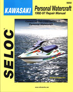 Kawasaki Personal Watercraft, 1992-97, 1st Edition, 978-0-89330-042-5
