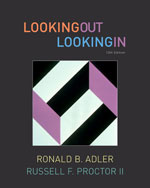 Student Activities Manual for Adler/Proctor's Looking Out, Looking In, ISBN-13: 978-1-4390-8516-5