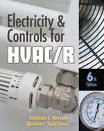 Electricity and Controls for HVAC-R, 6th Edition, 978-1-4354-8427-6