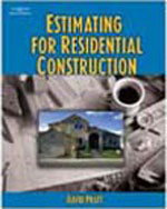 Estimating for Residential Construction, 1st Edition, 978-1-4018-7947-1