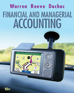 Study Guide, Chapters 1-15 for Warren/Reeve/Duchac's Corporate Financial Accounting, 10th and Financial & Managerial Accounting, 10th, ISBN-13: 978-0-324-66464-5