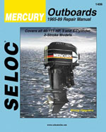 Mercury Outboards, 3-4 Cylinders, 1965-1989, 1st Edition, 978-0-89330-013-5