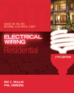 Electrical Wiring Residential, 17th Edition, 978-1-4354-9826-6