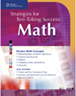 Strategies for Test Taking Success: Math, 1st Edition, 978-1-4130-0925-5