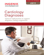 Coder's Desk Reference for Cardiology Diagnoses 2011, 1st Edition, 978-1-60151-458-5
