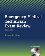 Emergency Medical Technician Exam Review (Book Only), 2nd Edition, 978-1-133-13127-4