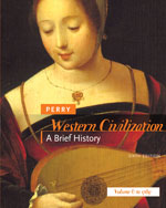 Western Civilization: A Brief History, Volume I: To 1789, 6th Edition, 978-0-618-80713-0