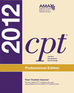 CPT Professional Edition 2012, 1st Edition, 978-1-60359-568-1