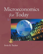 Study Guide for Tucker's Microeconomics for Today, 978-1-111-22247-5