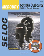 Mercury Outboards, 4 Stroke 2005-2011, 1st Edition, 978-0-89330-084-5