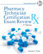 Pharmacy Technician Certification Exam Review, 3rd Edition, 978-1-4283-2062-8