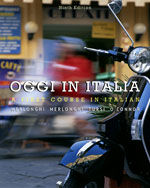 Student Activities Manual for Merlonghi/Merlonghi/Tursi/O'Connor's Oggi In Italia, ISBN-13: 978-0-495-90032-0