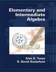 Elementary and Intermediate Algebra (Hardcover), 1st Edition, 978-0-534-36883-8