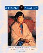 A People and a Nation: A History of the United States, 8th Edition, 978-0-618-95196-3