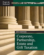 Corporate, Partnership, Estate and Gift Taxation 2012 (with H&R Block @ Home Tax Preparation Software, CPA Excel 2012 1-Semester Printed Access Card) , 6th Edition, 978-1-111-82579-9