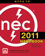 National Electrical Code 2011 Handbook, 1st Edition, 978-0-87765-916-7