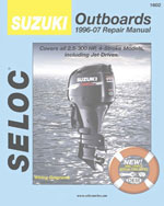Suzuki Outboards 1996-2007 All 4 Stroke Models, 1st Edition, 978-0-89330-073-9