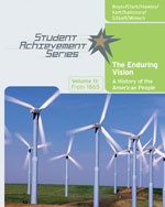 Student Achievement Series: The Enduring Vision: A History of the American People, Volume II: From 1865, 1st Edition, 978-0-618-73883-0