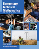 Elementary Technical Mathematics, 10th Edition, 978-1-4390-4689-0