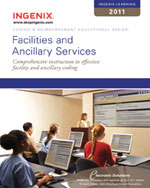 Ingenix Learning: Facilities & Ancillary Services 2011, 1st Edition, 978-1-60151-425-7
