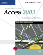 New Perspectives on Microsoft Office Access 2003, Brief, CourseCard Edition, 1st Edition, 978-1-4188-3907-9