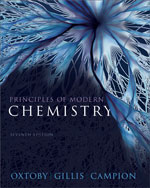 Student Solutions Manual for Oxtoby/Gillis' Principles of Modern Chemistry, 7th, ISBN-13: 978-1-111-42724-5