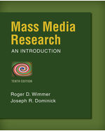 Mass Media Research, 10th Edition, 978-1-133-30733-4