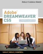 Adobe® Dreamweaver® CS5: Comprehensive, 1st Edition, 978-0-538-47394-1