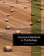 Student Solutions Manual for Howell's Statistical Methods for Psychology, 8th, ISBN-13: 978-1-133-48932-0