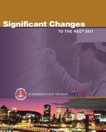 Significant Changes to the NEC 2011 Edition, 1st Edition, 978-1-111-13553-9