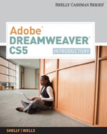 Adobe® Dreamweaver® CS5: Introductory, 1st Edition, 978-0-538-47374-3