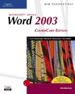 New Perspectives on Microsoft Office Word 2003, Introductory, CourseCard Edition, 1st Edition, 978-1-4188-3910-9