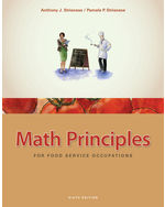 ePack: Math Principles for Food Service Occupations, 6th + Culinary, Hospitality, Travel & Tourism CourseMate with eBook 1-Year Instant Access Code, 978-1-285-26354-0