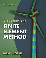 A First Course in the Finite Element Method, 5th Edition, 978-0-495-66825-1