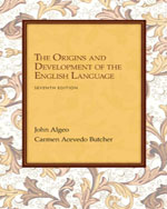 Workbook: Problems for Algeo/Butcher's The Origins and Development of the English Language, 7th, 978-1-133-95754-6