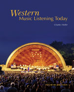 Bundle: Western Music Listening Today (with 2 CDs), 4th + 4 CD-ROM Set, 978-1-111-97860-0