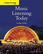 Bundle: Cengage Advantage Books: Music Listening Today (with 2-CD Set), 4th + 4 CD-ROM Set, 978-1-111-65463-4