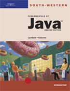 Fundamentals of Java: Introductory, 2nd Edition, 978-0-619-05971-2