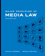 Major Principles of Media Law, 2010 Edition, 1st Edition, 978-0-495-56768-4
