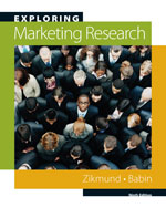 Exploring Marketing Research (with Qualtrics Printed Access Card and DVD), 10th Edition, 978-0-324-78844-0