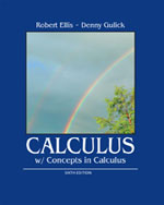 Calculus with Concepts in Calculus, 978-1-133-43675-1