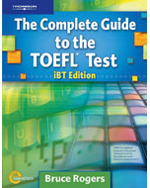 The Complete Guide to the TOEFL® Test: iBT Edition, Text/CD-ROM/Online Tutorial, 4th Edition, 978-1-111-21808-9
