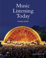 Study Guide for Hoffer's Music Listening Today, 4th, ISBN-13: 978-0-495-57201-5
