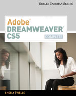 Adobe® Dreamweaver® CS5: Complete, 1st Edition, 978-0-538-47395-8
