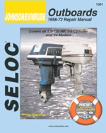 Johnson/Evinrude Outboards 1958 - 1972, 1st Edition, 978-0-89330-081-4