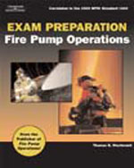 Exam Preparation For Fire Pump Operations, 1st Edition, 978-1-4180-2088-0