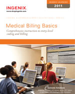 Ingenix Learning: Medical Billing Basics 2011, 1st Edition, 978-1-60151-424-0